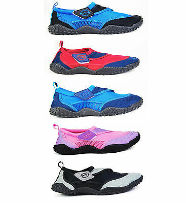 bb3a98337c9c Aqua Beach Surf Water Wet Shoes - Boys Girls Mens Womens Wetsuit Boots