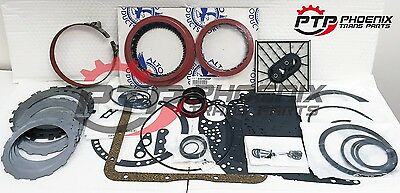 TURBO 350 Master Rebuild Kit Alto Red Eagle High Performance Clutches & Band