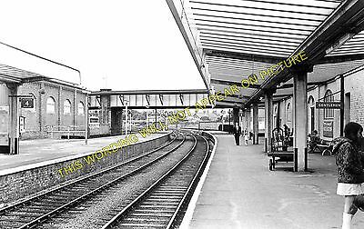 Bridlington Railway Station Photo. Carnaby- Flamborough. Driffield to Filey. (2)