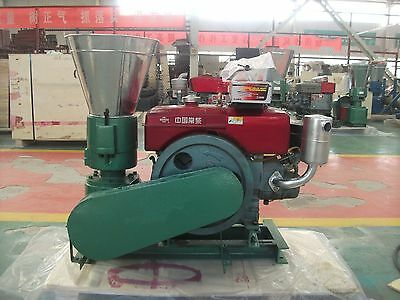 PELLET MILL 8 HP DIESEL ENGINE MIAMI USA SHIPPING (4mm sheep)