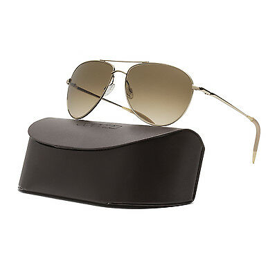 Oliver Peoples OV1002S Benedict Sunglasses Gold Chrome Amber Photochromatic VFX