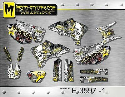Yamaha WRf WR 250 450 2005 up to 2006 graphics decals kit Moto StyleMX