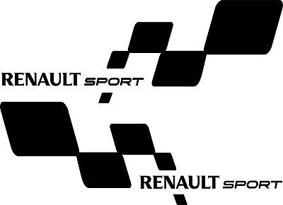 2x stickers Renault sport (1), RS