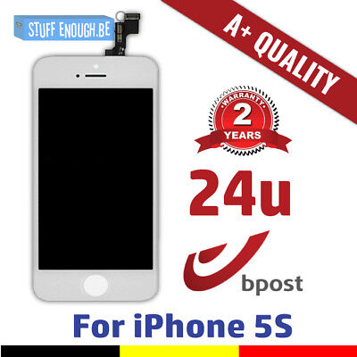 Iphone 5S Aaa+ Lcd Touch Screen Vitre Tactile Display/scherm/écran White