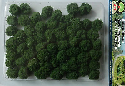 Foliage Clumps & Undergrowth, Scenery For Model Rail, All Scale, Jtt 95062, New