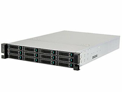 Silverstone RM212 12-Bay 3.5-Inch Hot-Swap Rackmount Storage Server Chassis Case