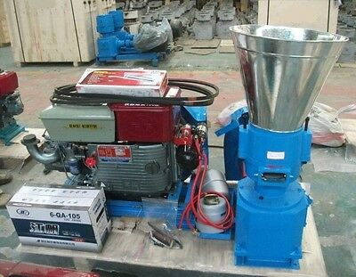 Pellet Mill 15Hp Diesel Engine Pellet In Usa. We Ship Next Business Day, Usa