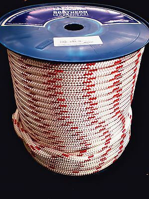 100m REEL x 12 mm DOUBLE BRAID POLYESTER YACHT ROPE