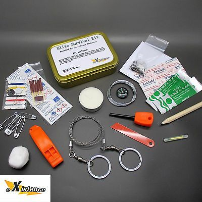 ELITE SURVIVAL KIT outdoor pursuit emergency set camping hiking military scouts
