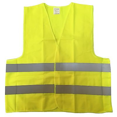 Yellow Mesh Neon High Visibility Safety Vest XL,Unisex, ANSI/ ISEA 107-2010
