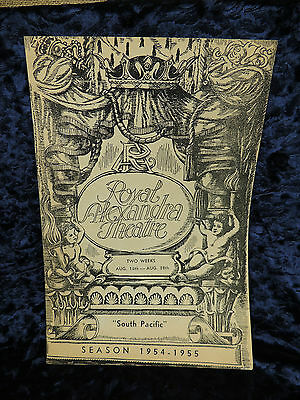 Royal Alexandra Theatre Toronto South Pacific  Season 1954 1955 Playbill
