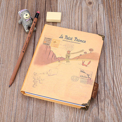 Little Prince Hard Cover Planner School Study Notebook Notepad Journal Diary