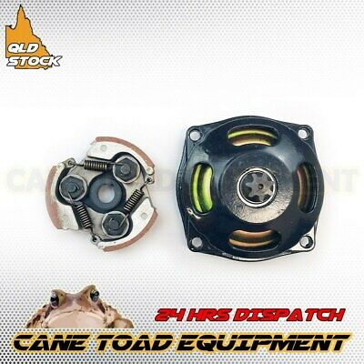 7T 25H Clutch Drum Bell Housing & Pad 43cc 47cc 49cc Mini ATV Quad Rocket Bike