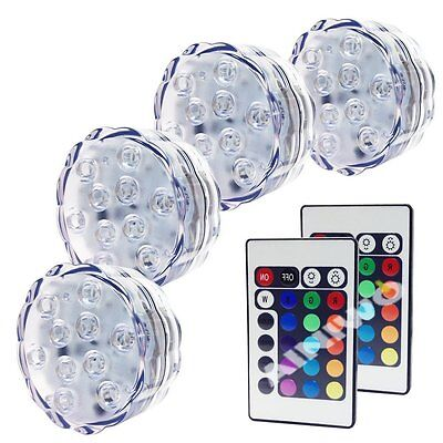Swimming Pool Remote Control RGB LED Light Color Underwater Light Show Decor 4