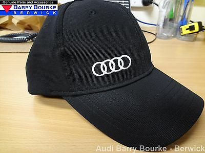 New Official 2016 Audi Black Cap Part ADI15359