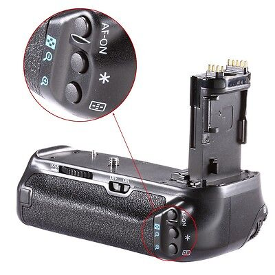 Neewer Muti-Power Battery Grip pack for Canon EOS 70D 80D DSLR Camera AS BG-E14