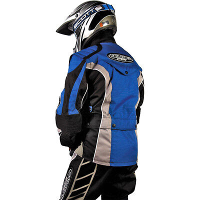 Ballards NEW Enduro EMX MX Bike Motorcycle Riding Trail ISDE Blue Offroad Jacket