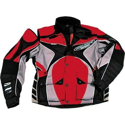 Ballards NEW Enduro EMX MX Bike Motorcycle Riding Trail ISDE Red Offroad Jacket