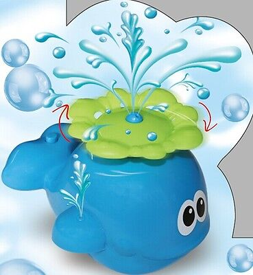 Spray Water Bath Beach Party Swimming Pool Toy Gift Kids Toddler - Whale