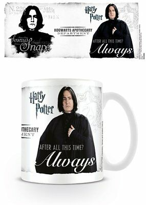 Harry Potter Severus Snape After All This Time? Always Coffee Mug Cup Official