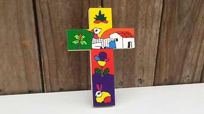 El Salvador Landscape Cross - communion, confirmation gift. Fair Trade