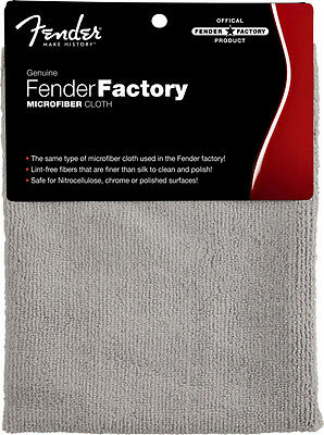 Fender Factory Microfiber Cloth - Official Factory Product