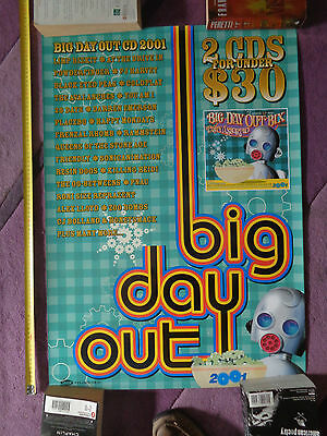 Big Day Out 2001_RARE PROMO POSTER_ships from AUSTRALIA!_26a