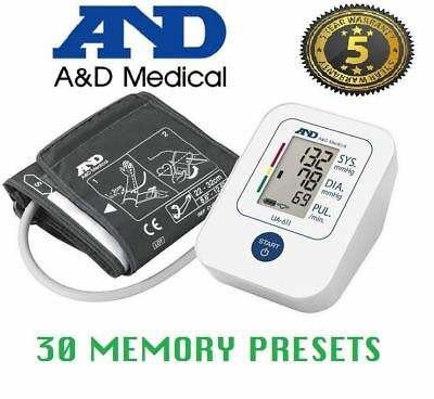 A&D UA-611 Upper Arm Automatic Blood Pressure Monitor with Cuff 22-32cm