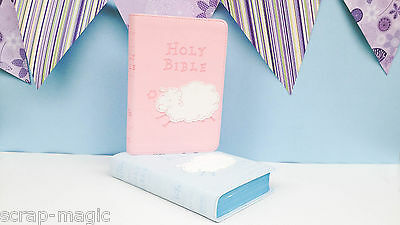 BLUE Really Woolly Children's Bible - perfect Christening or baptism present