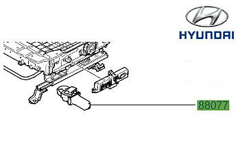 Genuine Hyundai Santa Fe Electric Seat Motor - 885092B110
