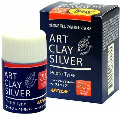 New Aida Chemical Industry Art Clay Silver paste type 20g Japan Free Postage s/f