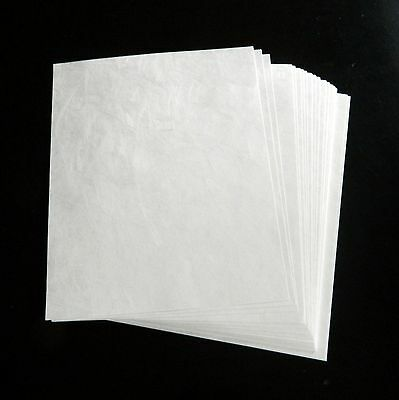 Tyvek Sheets 8.5 X 11 100 per package 14# style 1056D craft printer material