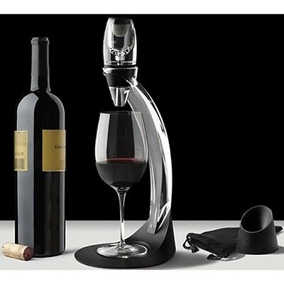 Deluxe Alcohol Wine Aerator Decanter with Stand gift box set