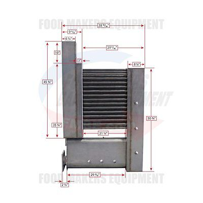 Baxter OV200GM2B / OV210GM2B Heat Exchanger .