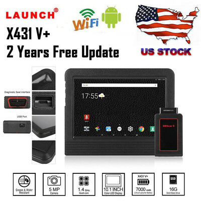2017 Version Launch X431 V+ ScanPad  Diagnostic Scanner Tool Tablet Global