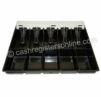 Samsung and SAM4s cash drawer insert money tray - 5 bills and 5 coins