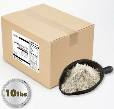 10lb Unflavored Whey Protein Concentrate - Bulk Foods Direct