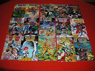 Suicide Squad  #53 54 55 56 57 58 59 60 61 62 63 64 65 66 Final Issue Jla  #1 Nm