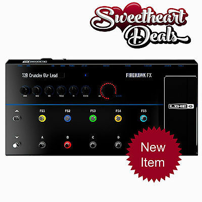 NEW Line 6 Firehawk FX Multi-Effect Guitar Processor with iOS / Android App