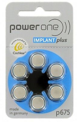 PowerOne Power One 675 Cochlear Implant Batteries (2 boxes)