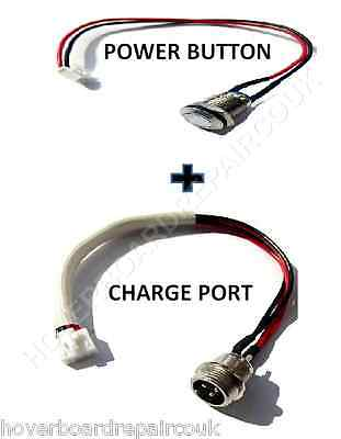 Balance Hoverboard Swegway Segway Spare Charging Port & Power Button - UK Repai