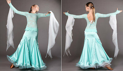 Turnierkleid Standardkleid Standartkleid Ballroom Dress Robe Dansing 146-152