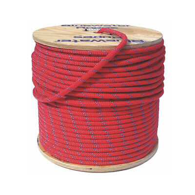 Bluewater Rope Assaultline ++ Static 11.2mm Red With Blue (20m LENGTH)