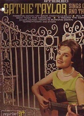 Cathie Taylor . Sings of Land and People . Canadian artist . 1964 Reprise LP