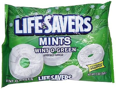Life Savers Wint-O-Green Mints Candy, 13 oz $8.49 FREE SHIPPING