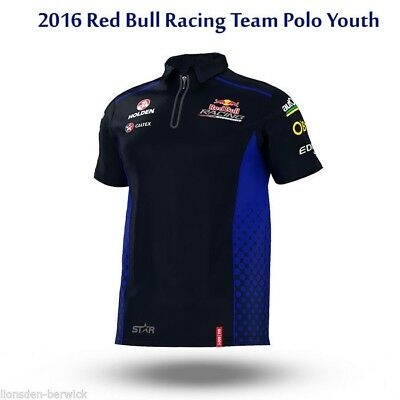 New Genuine Official 2016 Red Bull Racing Team Polo Youth (select your sizes)