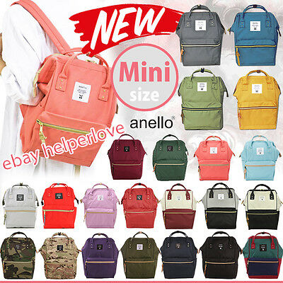 510b752cc8da Sold The Most- Japan Anello Original NEW MINI SMALL Backpack Rucksack  Canvas Bag