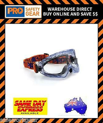 (Pack of 2) ProChoice 3700 Series Foam Bound Clear Lens Safety Goggles