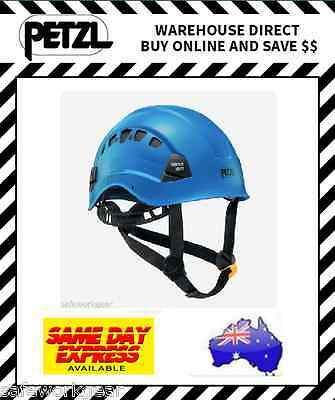 Petzl Vertex Vent Safety Climbing Helmet BLUE with Vents