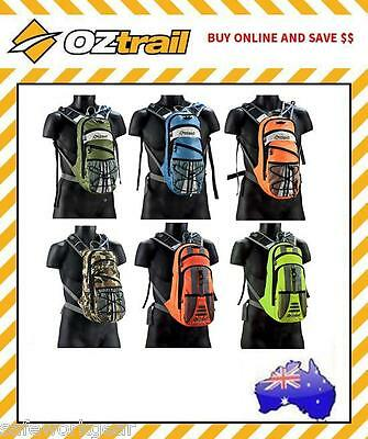 OZtrail Blue Tongue 2L Hydration Pack Climbing Hiking Cycling Sports
